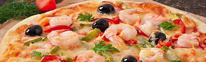 | Pizza aus dem Meer